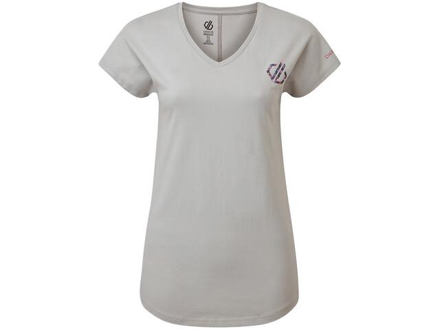 Dare 2b Pastime Camiseta Mujer, argent grey